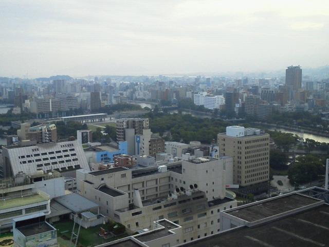 広島にきました(*^_^*